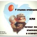 7 этапов отношений или Когда