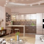 #Необычная_ПланировкаКухня + гостиная