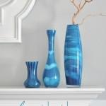 Декор обычной стеклянной вазы своими