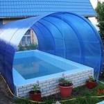Вот такой бассейн сделал дедушка