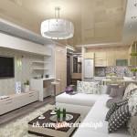 Интерьер маленькой квартиры#идея #дизайн #интерьер