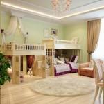 Прекрасная дизайна детской комнаты
