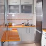 Интерьр маленькой кухни