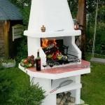 Печь-барбекю для творческих дачников