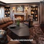 Великолепная и уютная гостиная#идея #дизайн